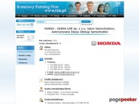 HONDA – SIGMA-CAR Sp. z o.o.